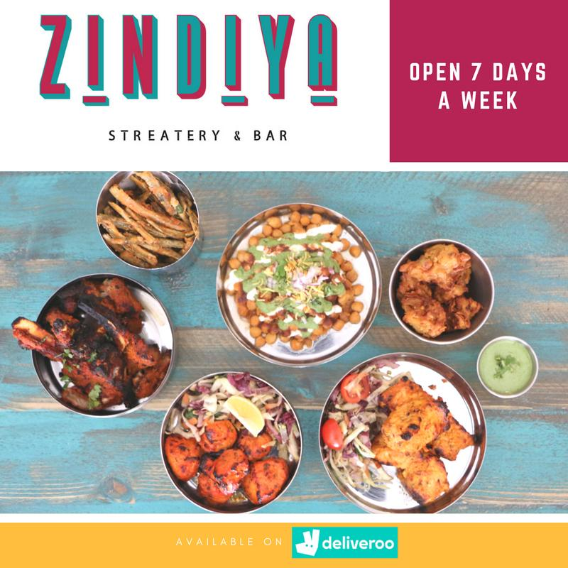 Zindiya On Twitter Dine In Or Delivered To Your Door