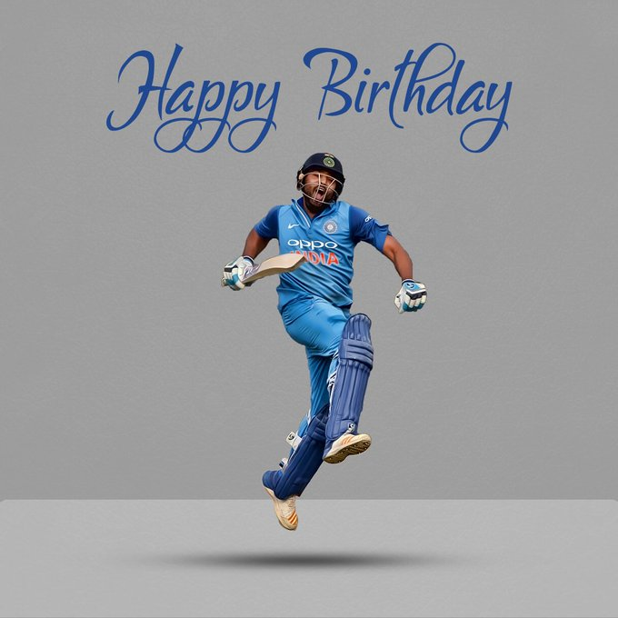 Wish you happy birthday... HITMAN Rohit sharma