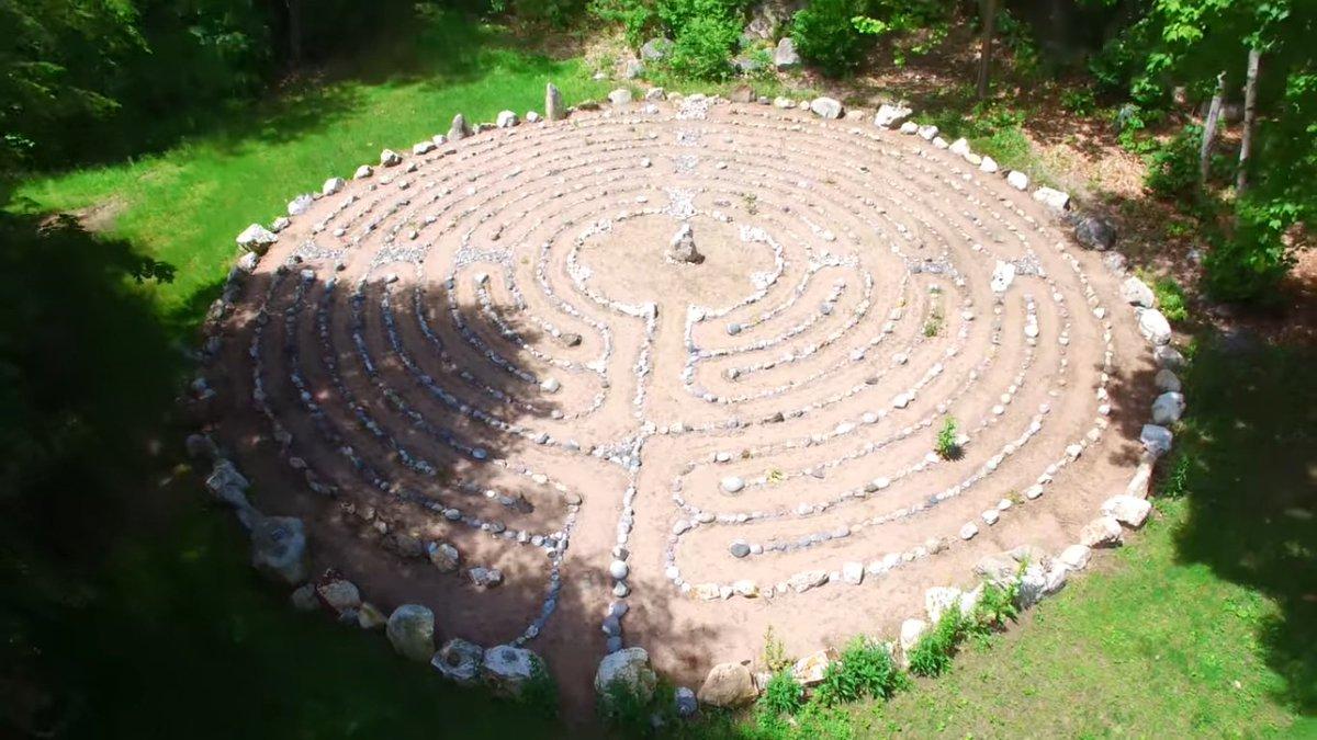 Labyrinths Of New England Labyrinthsne Twitter 5 Circuit Labyrinth 0 Replies Retweets 1 Like