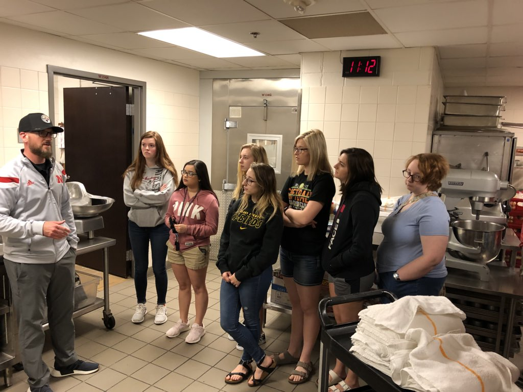 FPS FCSFCCLA On Twitter Culinary Class At The UNL Training Table - Unl training table
