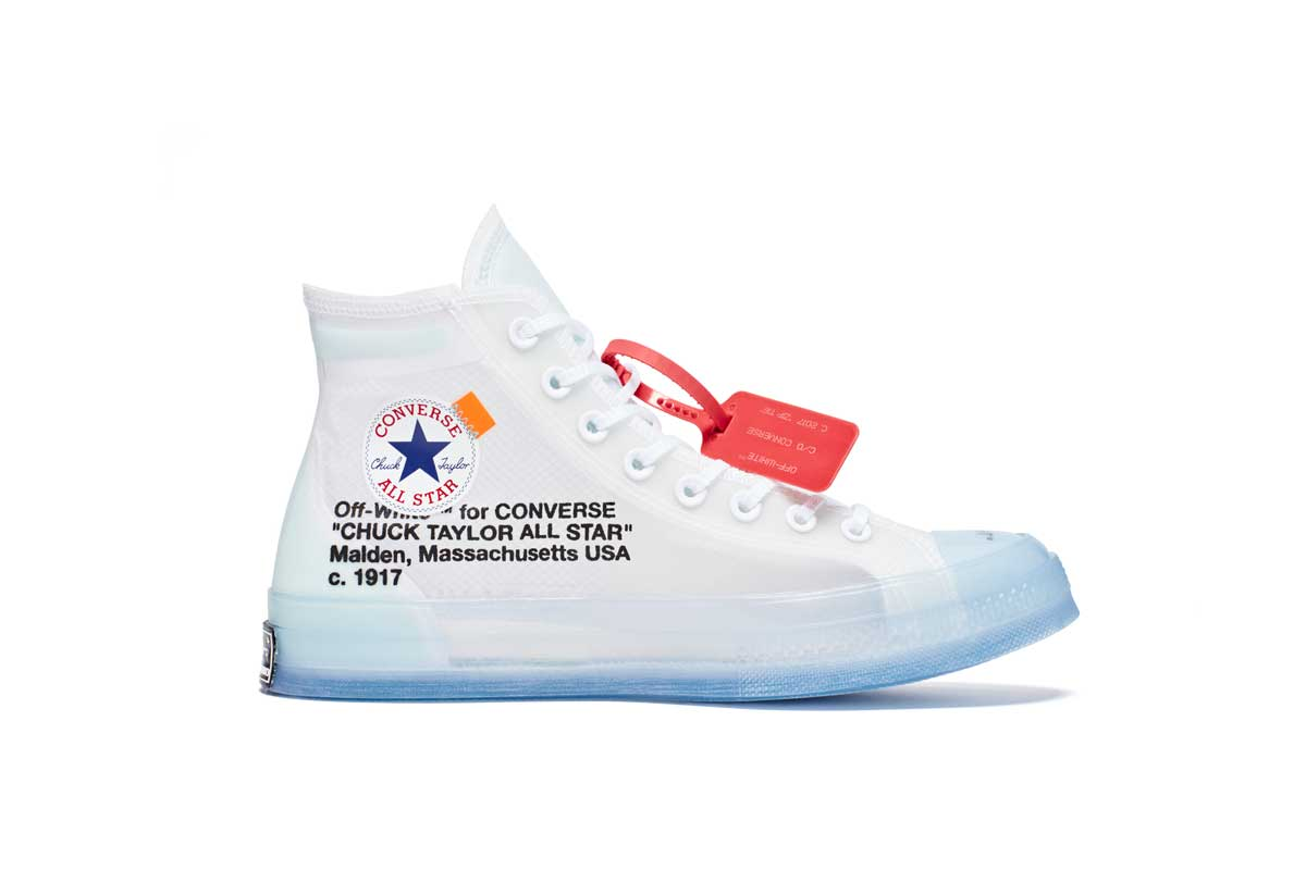 The  OffWht x Converse Chuck Taylor drops via Converse   OFF-WHITE direct   http   s.hsnob.co u9LeJTA pic.twitter.com l19lWuOaDg 0db435200