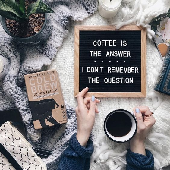 Square One On Twitter Happy Monday Coffee Is Definitely The Answer Mondaymotivation