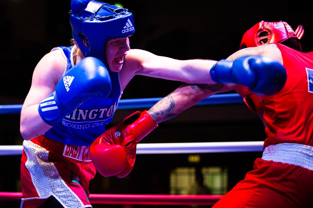 Fauldhouse Amateur Boxing Club Star Tanya Green Becomes Club's First Female National Champion