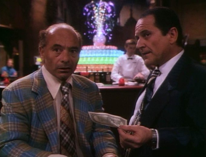 Happy Birthday to Burt Young, star of the Tales from the Crypt episode Split Personality !