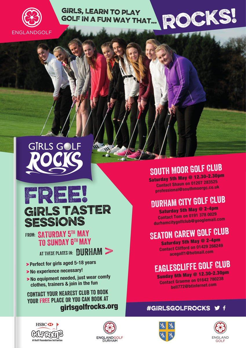 Girls Golf Rocks On Twitter Durham And Northumberland