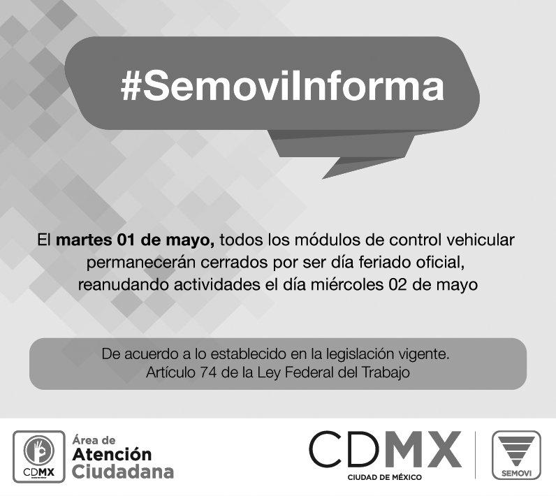 Secretaría De Movilidad Cdmx On Twitter Todos Los Módulos