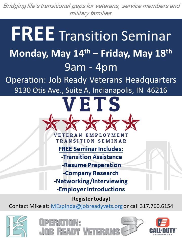 Job Ready Veterans On Twitter Transition Assistance
