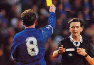 Image result for gazza yellow card