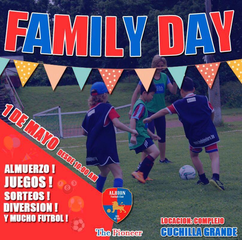 Albion Fc Sad Oficial On Twitter Familyday L Los Esperamos Manana