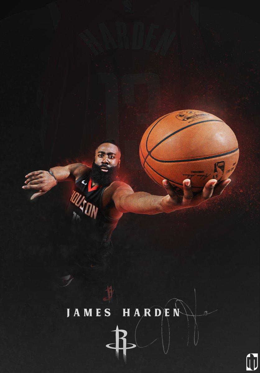 Dallas Price Graphic Design On Twitter RT Hrvojeglasnovic Ivan Marcinko James Harden HD Wallpaper Gfx NBA GraphicDesign NBAPlayoffs HARDEN