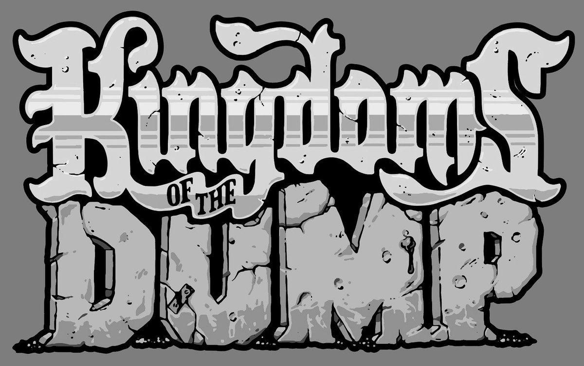 Kingdoms Of The Dump On Twitter Our New Game Logo Colors Still Being Finalized Follow For More Updates Kingdomsofthedump Indiedev Gamedev Rpg