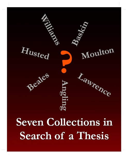 test Twitter Media - Exhibition:  Seven Collections in Search of a Thesis  April 17, 2018 through mid-May -- during library hours Special Collections & Archives exhibit cases, Olin Library 1st floor https://t.co/3U1176FaAu