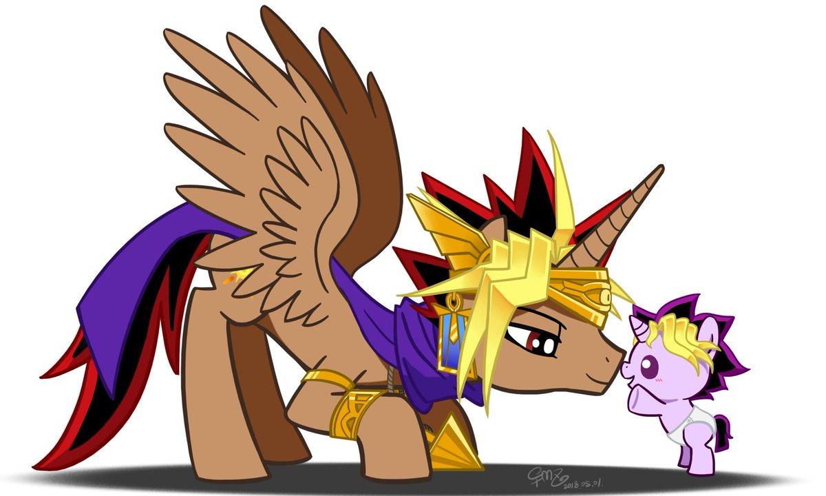 Inktataly On Twitter Pony Of Baby Yugi