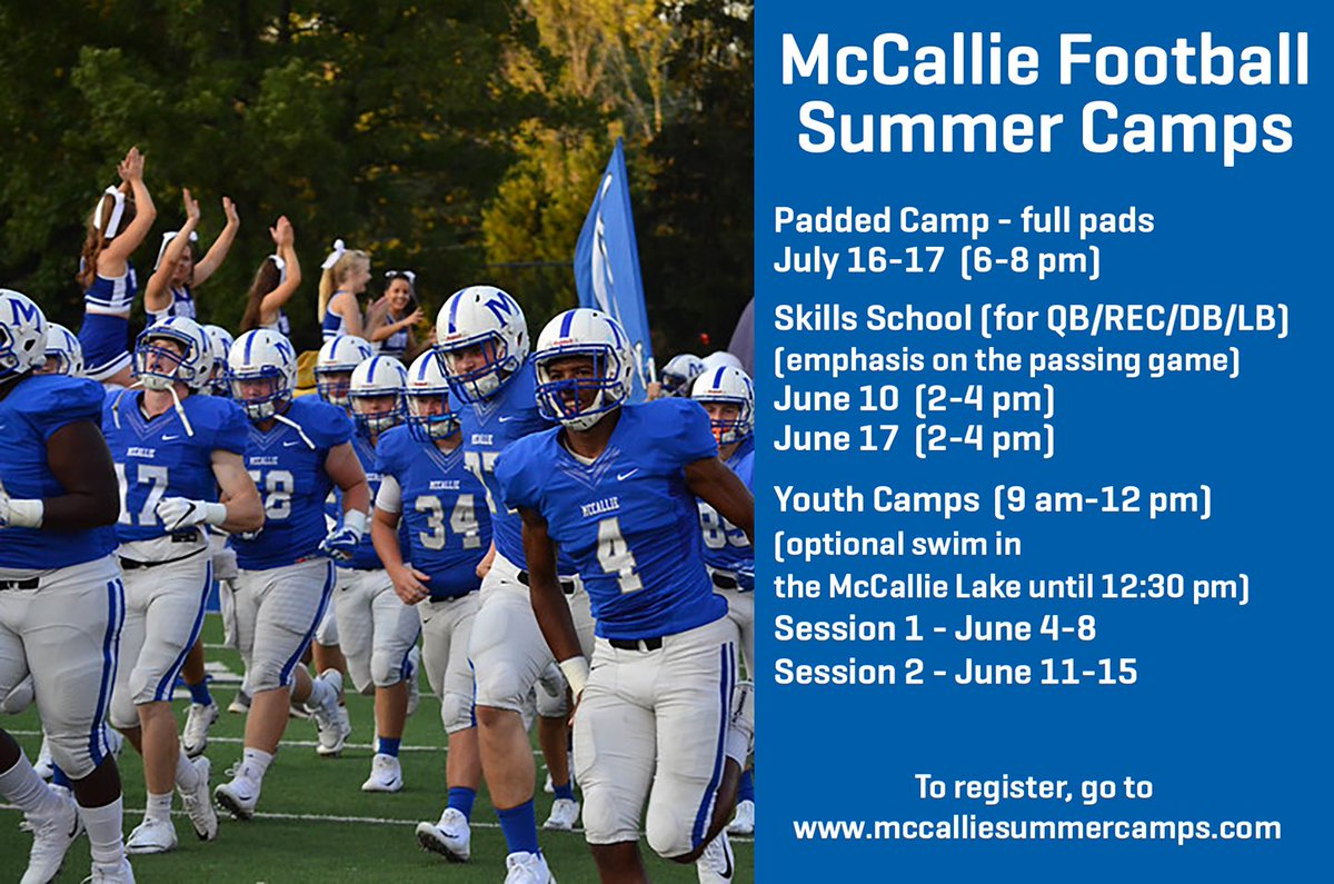 Mccallie Football On Twitter We Have Great Opportunities Coming