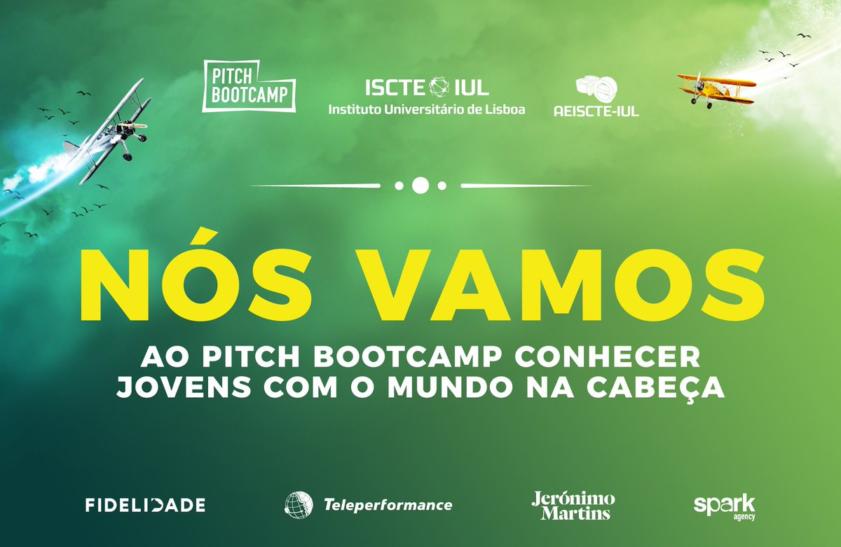 Come meet us @ISCTEIUL for #pitchbootcamp on Saturday 5th of May from 9h-13h30! Join us through https://t.co/vAaxCTEIex #chilltime #iscte #iscteiul https://t.co/9GVy1gR8x2