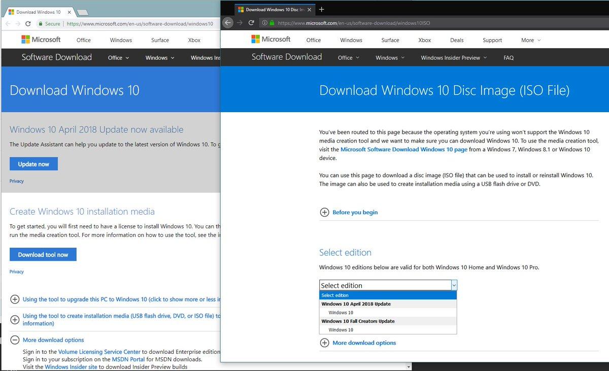 microsoft/en-us/software-download/windows 10 iso
