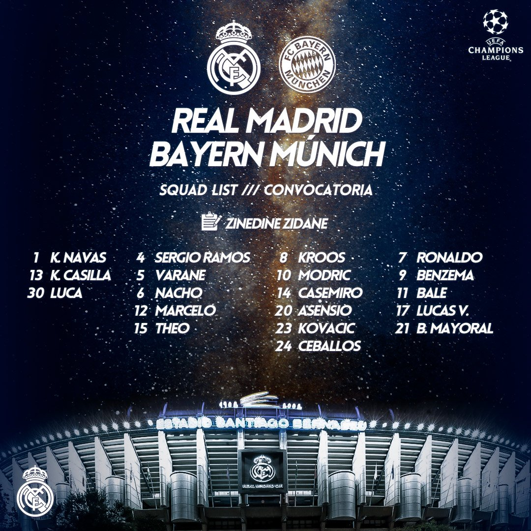 Bayern Munich Vs Real Madrid | UCL Semi first leg - Page 5 DcDIZ8CXUAEzAzL?format=jpg