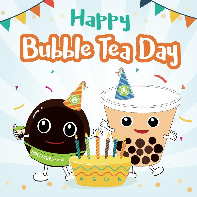 "Lollicup Fresh בטוויטר: ""Happy National Bubble Tea Day friends!! #mylollicup… """