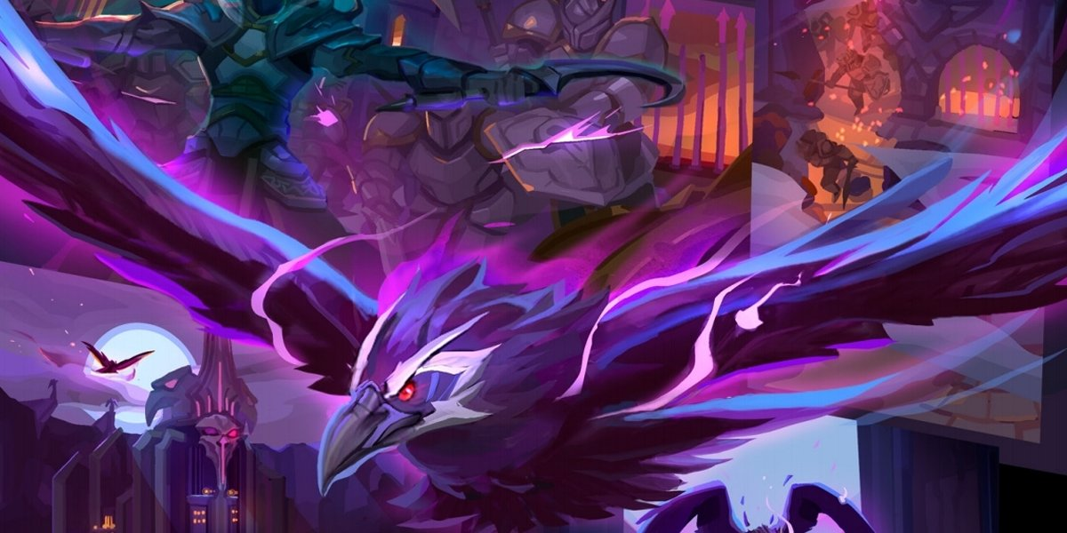 Rise Of The Raven Lord And The Dark Nexus Dehaka lashes out his tongue, dealing 160 (+4% per level) damage to the first enemy hit, stunning heal dehaka for 29 (+4% per level) health per stored essence over 5 seconds. twitter