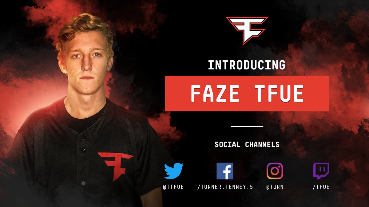 "Tfue Wallpaper: FaZe Clan On Twitter: ""WELCOME, FaZe Fortnite's New 4th"