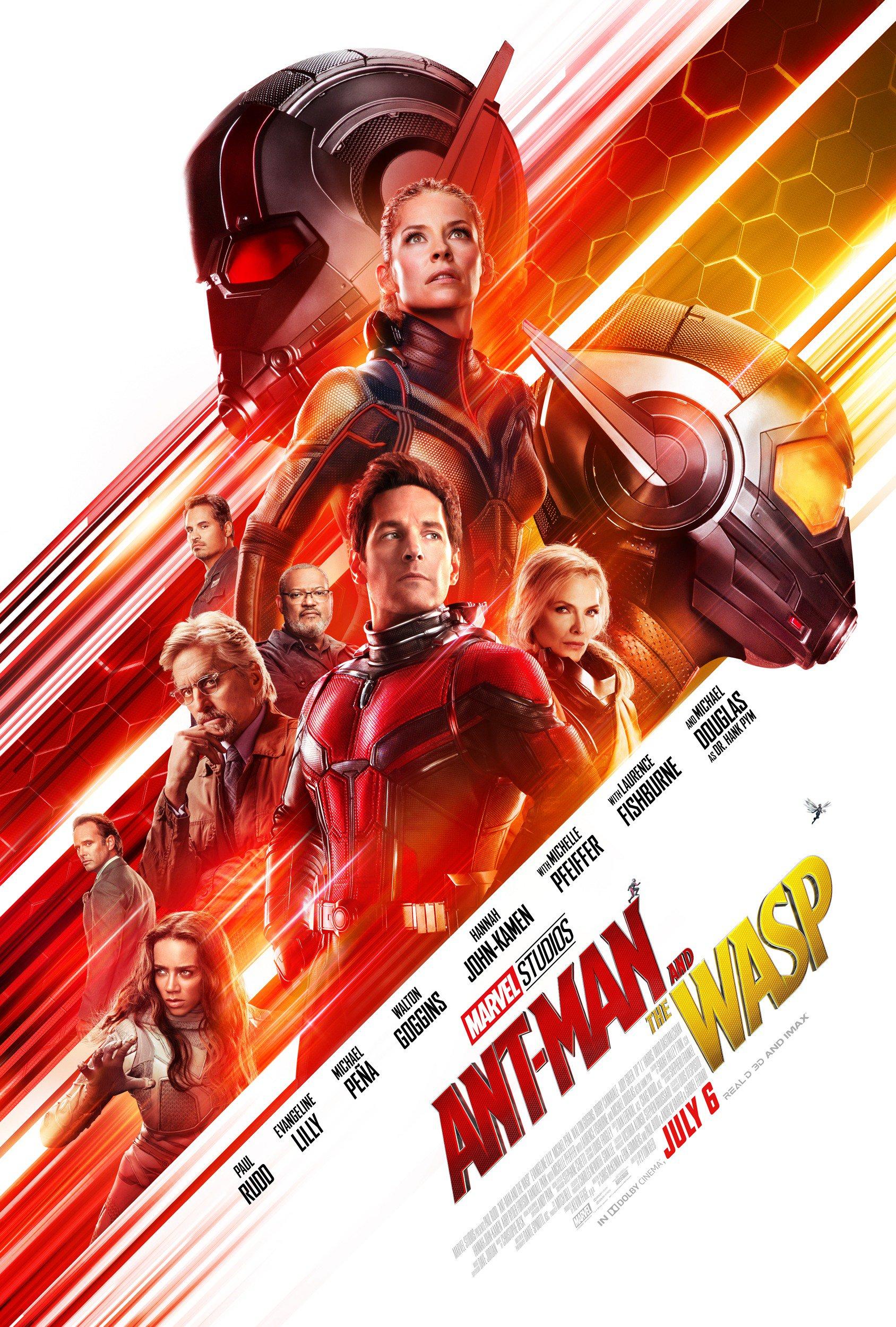 Homem-Formiga e a Vespa - Novo Poster