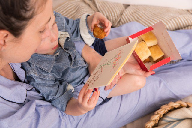 Breakfast in bed is so much sweeter with Chick-fil-A. #ChickinMinis for you and your mini 💗 https://t.co/0ghkpVRnkR