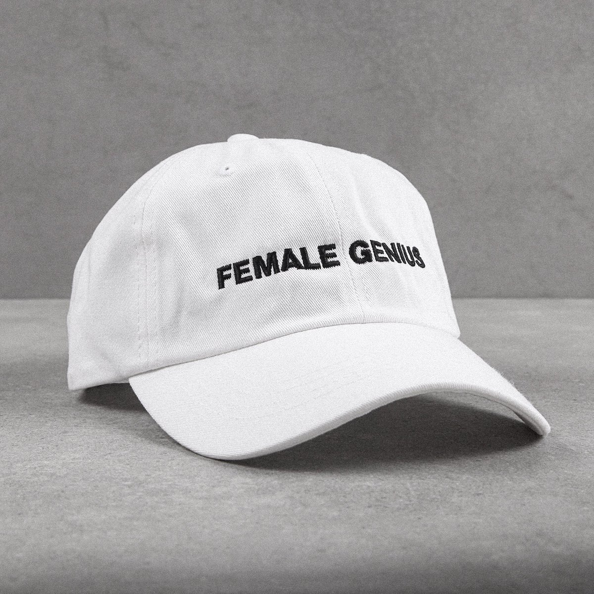 FEMALE GENIUS Cap available exclusively online at http://www.44LDN.com   • • • • • • • • • • #outfitfromabove #ootd #hypebeast #outfitsociety #bestofstreetwear #dadhats #streetstyle #femalegenius #offwhite #simplefits #itsaboutdetail #caps #hypecaps #snapbacks #44LDN