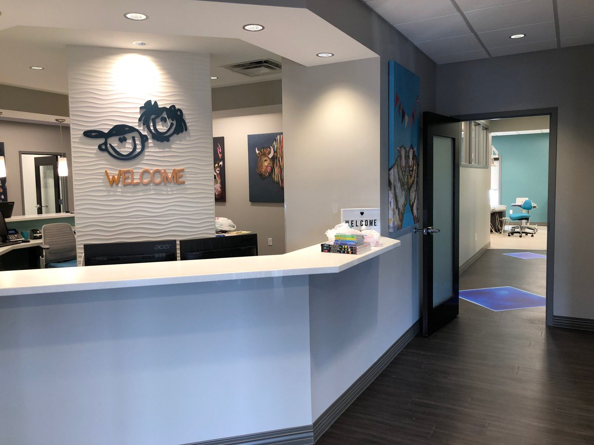 Another cool project by workspace interiors. Dr. Brit E. Bowers, DDS (Pediatric Dentistry), Johnson City, TN.