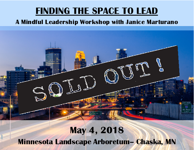 Janice Marturano On Twitter Our May 4th Workshop Is Sold Out Why