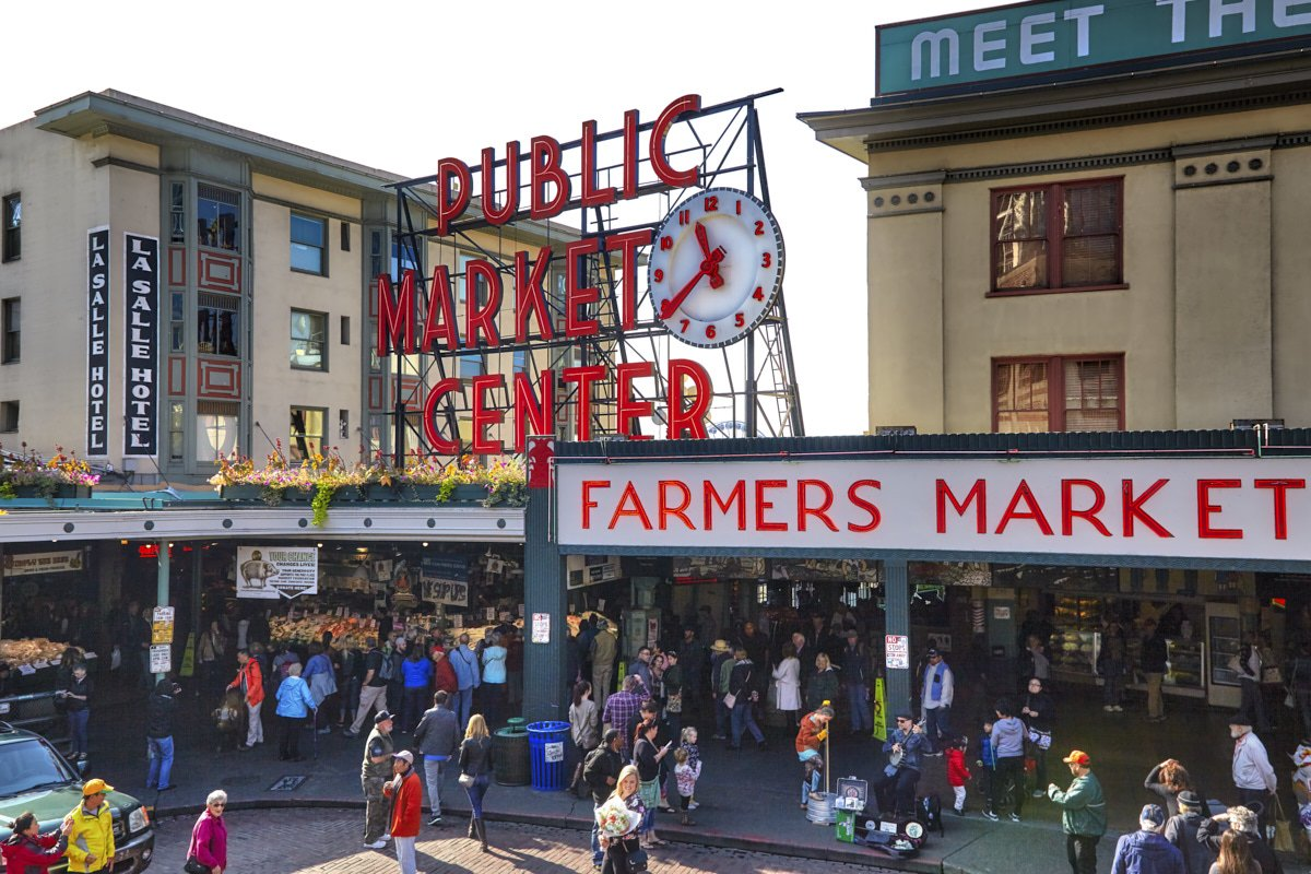 pike place market history The pike place market: people, politics, and produce by alice shorett and murray morgan, was published in 1982 it's a great read for anyone interested in a truly comprehensive collection of stories and pike place market history from day one.