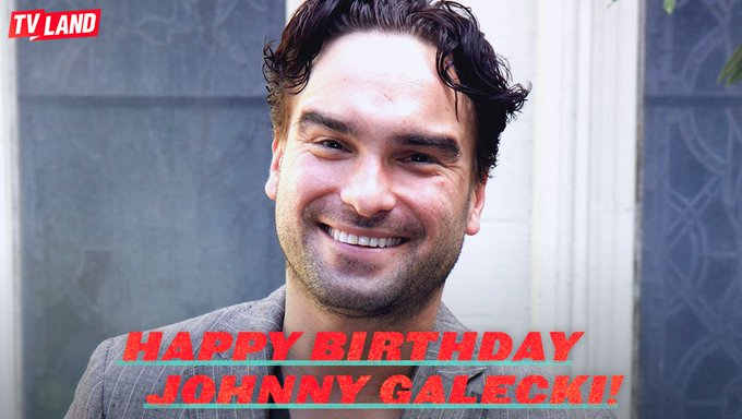 Happy Birthday to Johnny Galecki! See him in Saturdays on