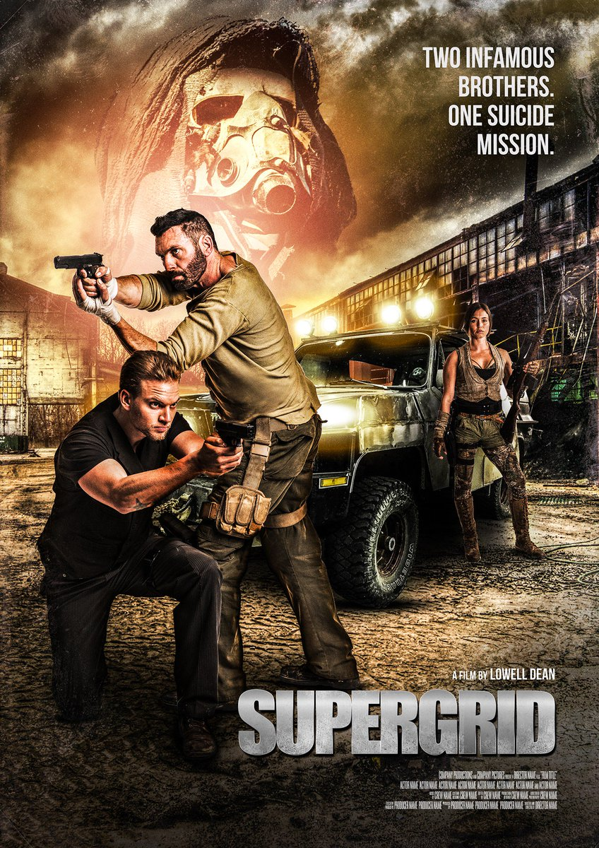 Road pirates & rebel gangs!  Watch the explosive trailer for @lolofilms @SuperGridMovie over on @BDisgusting: po.st/SuperGridBD #Cannes2018 #SuperGridMovie @Christian4Peeps