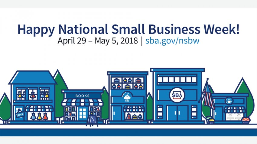 Happy #SmallBusinessWeek entrepreneurs. RT if you're a business owner!