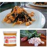 Image for the Tweet beginning: Try bay scallops, organic collards,