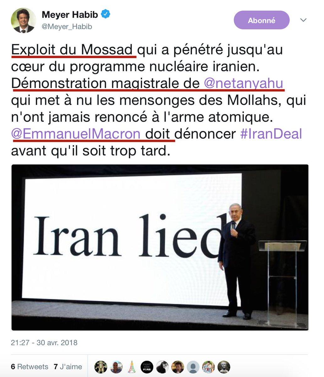 Coucou les contribuables : VOTRE député Meyer Habib célèbre le Mossad grâce à VOS impôts