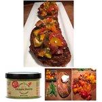 Image for the Tweet beginning: Cherry Tomato Bruschetta with Sauces