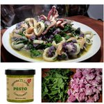 Image for the Tweet beginning: Fettuccine with Calamari, Purple Cauliflower,