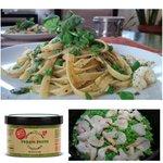 Image for the Tweet beginning: Fettuccine with Shrimp, String Beans