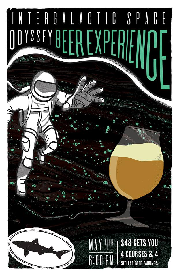Join us this Friday, May 4 from 6-8pm at our Rehoboth brewpub for an out of this world Beer Experience! For just $48, enjoy four stellar courses - each paired with an awesome beer fit for this celestial occasion! Grab your tix now: dogfishheadbrewpub.ticketleap.com/intergalactic/ 🌎🚀 #freshfromthepub