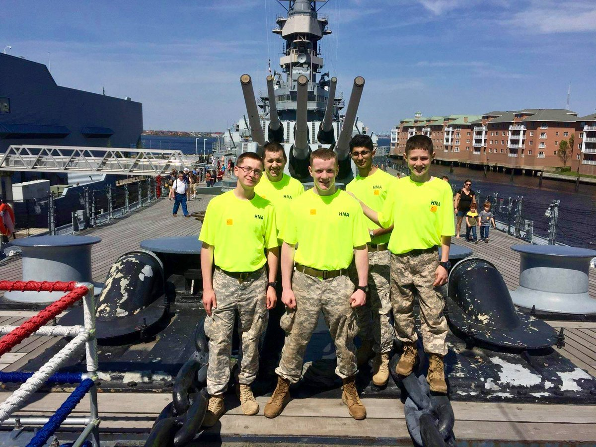 Scouts Visited The Hampton Roads Naval Museum And Toured Battleship Uss Wisconsin Several Were Recognized With Various Awards At Final Court