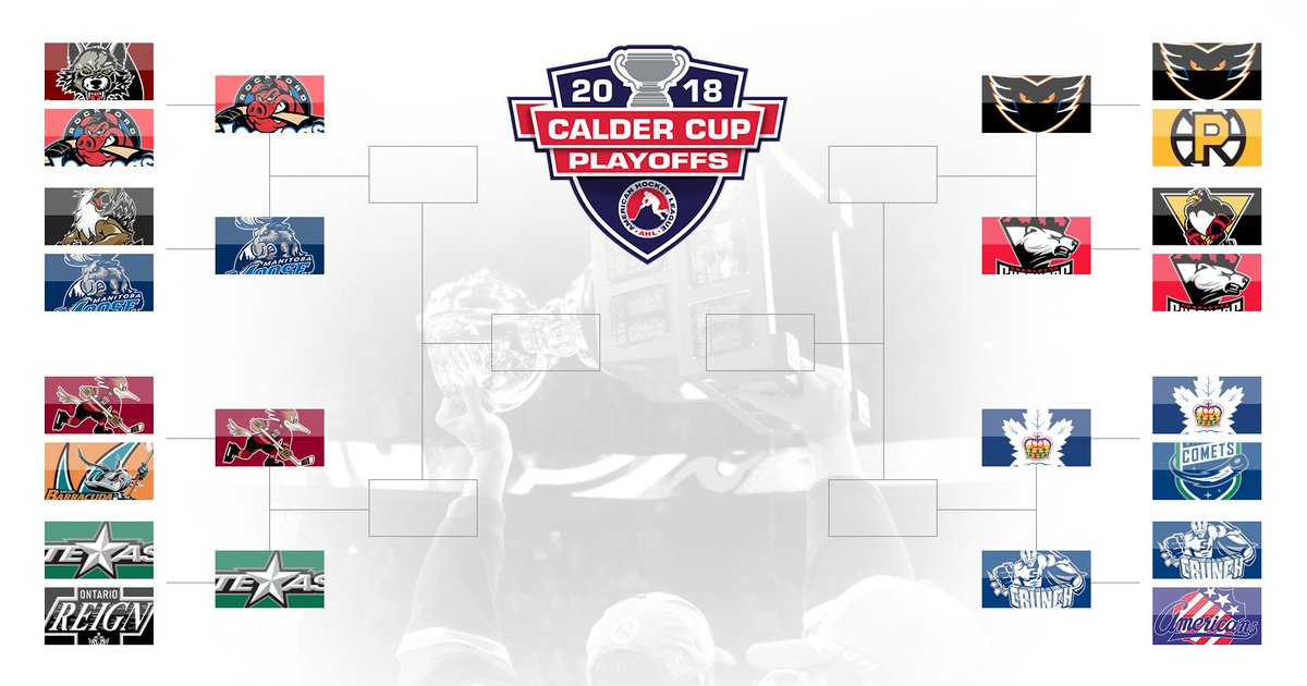 Ahl On Twitter And Then There Were Eight The Caldercup Schedule