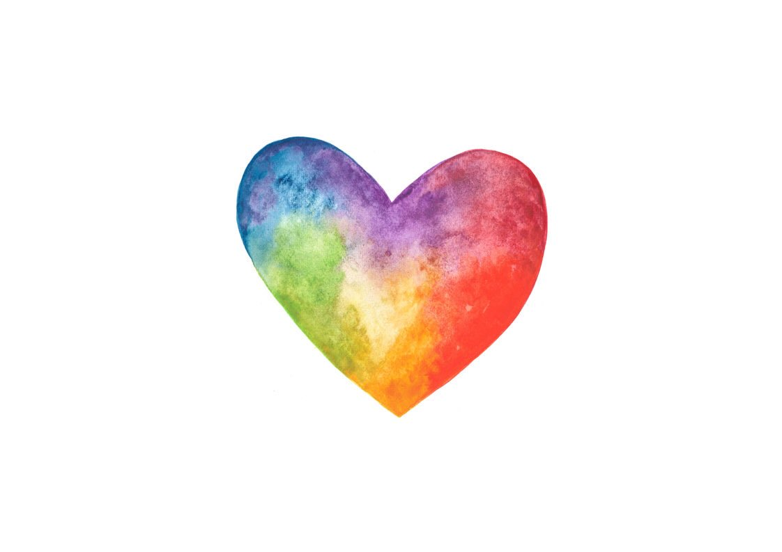 """Roxie Key Designs on Twitter: """"This watercolour rainbow ..."""