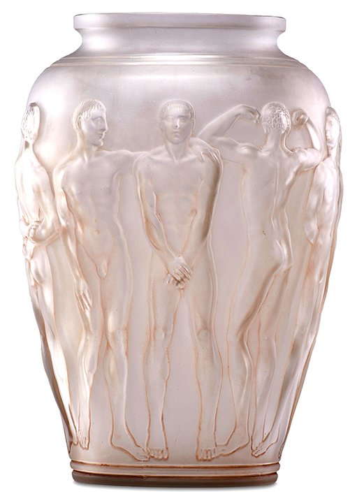 Maine Antique Digest On Twitter Lalique Palestre Vase France