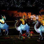 Image for the Tweet beginning: Light show presents traditional Chinese