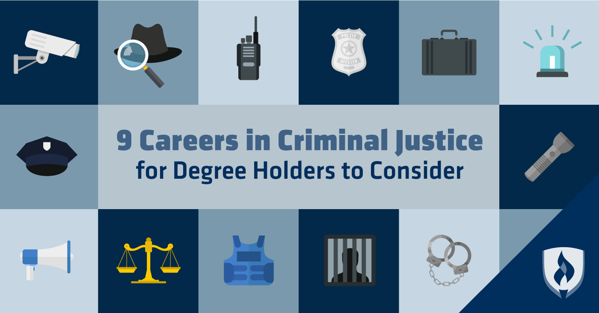 Criminal Justice Degree >> Rasmussen College On Twitter What Can You Do With A