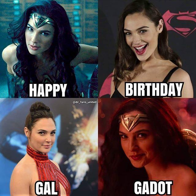 Happy birthday Gal Gadot!
