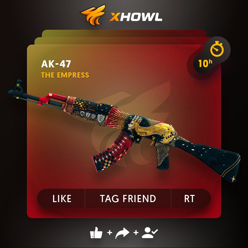 Xhowl Com On Twitter Ak 47 The Empress Giveaway Click