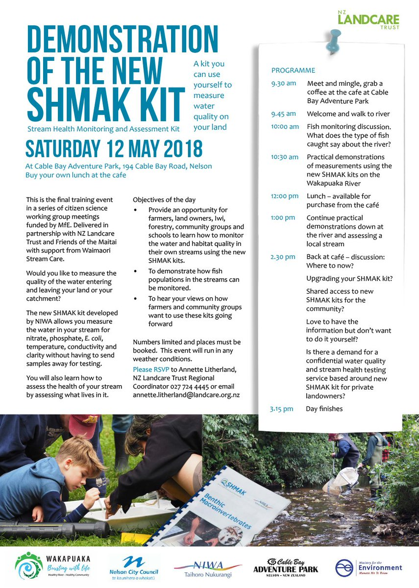 Nz landcare trust on twitter join us demonstration of the new saturday at cable bay adventure park httpsgoocne7ie contact annettetherlandlandcare for more information solutioingenieria Images