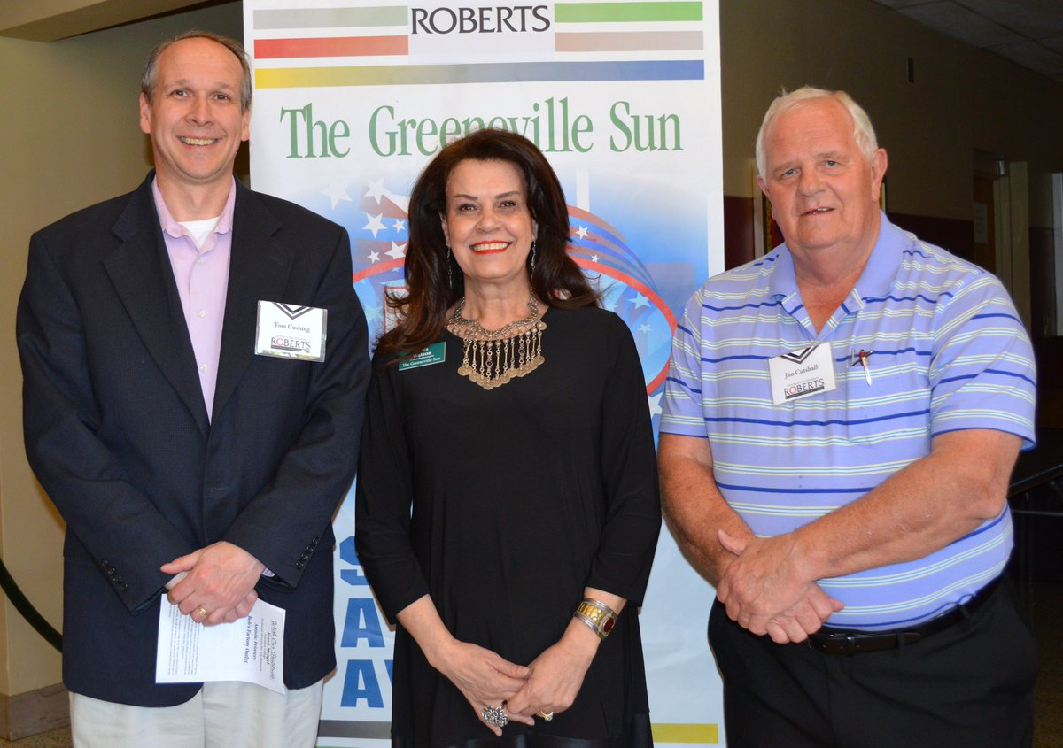 Cushing And Cutshall Represented Event Sponsor Roberts Furniture, Bedding  And Gifts, While Watson Represented The Greeneville  Sun.pic.twitter.com/eU4ewCEZn5