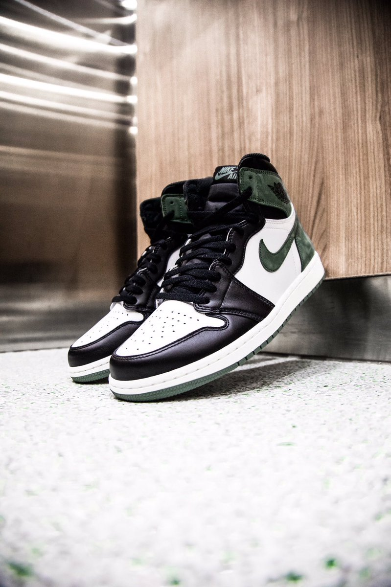 "408438087b4 Air Jordan 1 Retro High OG Clay Green from the ""Best Hand In The Game""  collection drops tomorrow at Jimmy Jazz in select stores and online at ..."